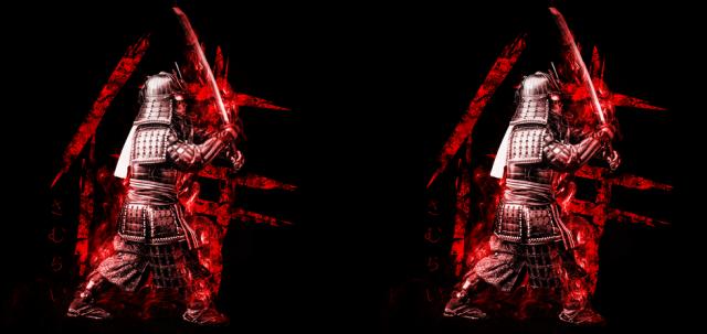 Kubek z samurajem