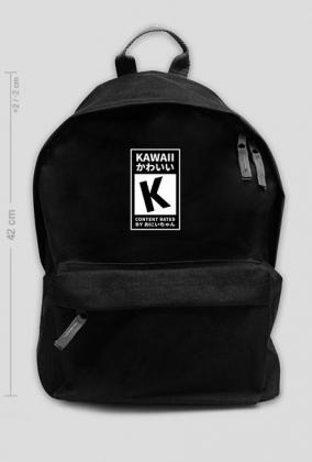 Kawaii rated by oniichan - Plecak Kawaii (Duży)