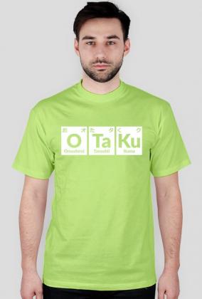 Otaku - Wzór Chemiczny - Japoński - Prezent dla fana anime / Otaku - Koszulka męska
