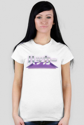 Hacker (ハッカー) - Prezent dla Otaku - Koszulka damska