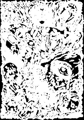 Horror Manga - Straszny Nadruk - Prezent dla fanki anime / Otaku