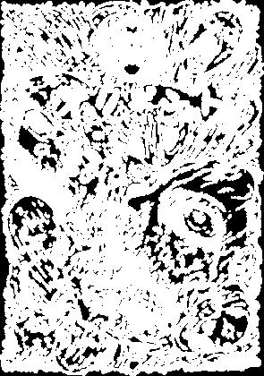 Bluza Harajuku - Manga Horror - Kowaii - Straszny Nadruk dla Otaku / Fana Anime