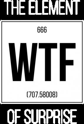 Koszulka WTF (Damska)