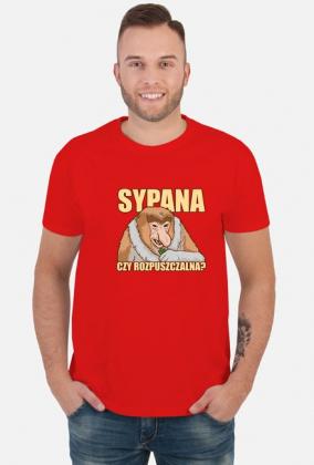 Sypana czy rozpuszczalna - Śmieszna Koszulka Nosacz (Męska)