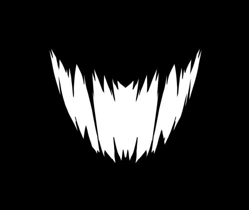 Kawaii maseczka - Demon