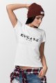 Daijoubu as fuck - Damski T-shirt z japońskim napisem