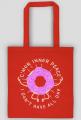 Inner Peace - Torba na zakupy dla nerwusa
