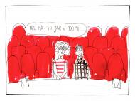 """Torba """"Nie ma jak w domu/teatrze"""