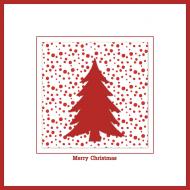 Poszewka świąteczna (Choinka)