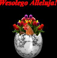 Wielkanocna poszewka (Pisanka,Kura, Bukiet)