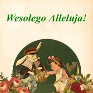 Wielkanocna poszewka (Vintage, Retro)