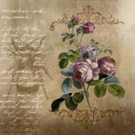 Eko torba kwiaty - Vintage, retro