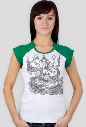 Koszulka damska (Ganesha)