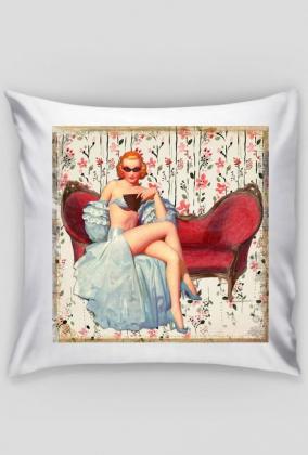 Poszewka na poduszkę (Dziewczyna Vintage)
