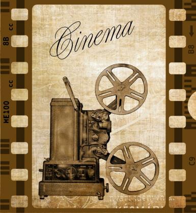 Poszewka na poduszkę (Cinema Retro)