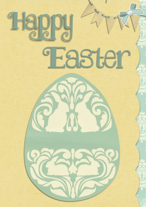 Poszewka na poduszkę (Happy Easter)