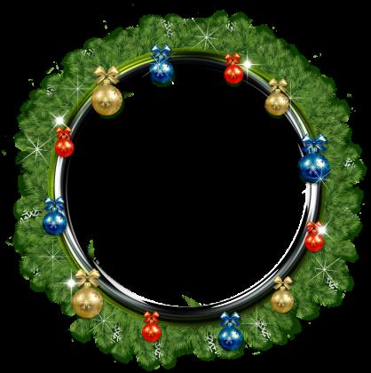 Poszewka świąteczna (Wianek Bożonarodzeniowy)
