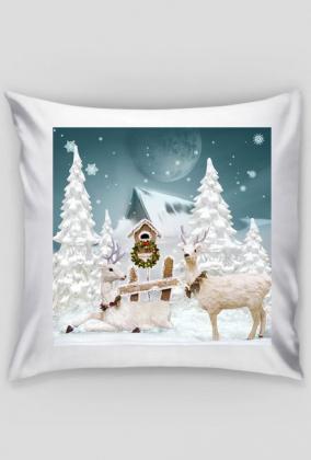 Poszewka świąteczna (Zima)