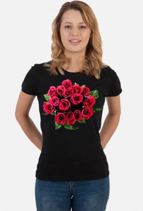 Koszulka damska (Róże)