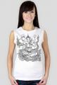 Koszulka damska bez rękawów (Ganesha)