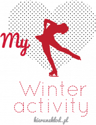 Eko torba biała -Winter activity 2