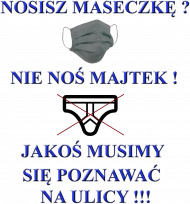 Nie noś majtek Koszulka DAMSKA