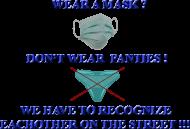 wear a mask - koszulka męska