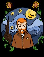 DisApproval_Vincent Van Gogh koszulka