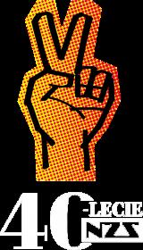 Koszulka męska 40-lecie NZS - czarna