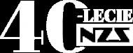 Bluza unisex 40-lecie NZS - czarna