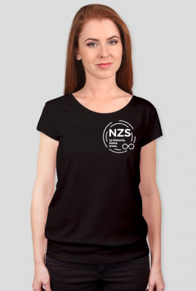 "Koszulka damska ""NZS to historia, która trwa"""