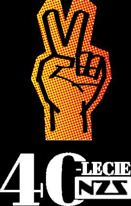 Koszulka damska 40-lecie NZS - czarna