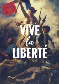 """Gruba bluza męska """"Vive la Liberte"""""""