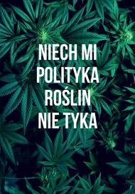 """Gruba bluza męska """"Marihuana"""""""