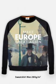 """Gruba bluza męska """"Make Europe Great Again"""""""