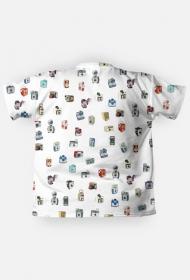 Koszulka fotograficzna Męska Vintage