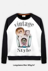 Bluza Męska fotograficzna Vintage style