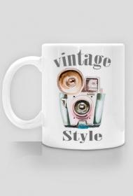 Kubek fotograficzny Vintage style