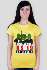 Austriacy NS'19 - koszulka damska