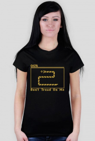 Snake - koszulka damska (women's t-shirt)