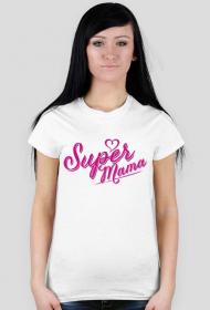 Super mama - koszulka damska
