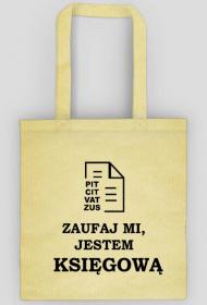 Zaufaj mi jestem księgową - eko torba