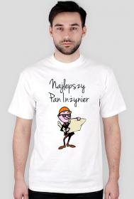 Najlepszy Pan Inżynier- koszulka męska