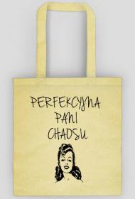 Perfekcyjna Pani Chaosu - eko torba