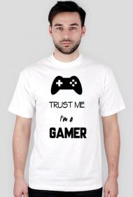 Trust me I`m a gamer - koszulka męska