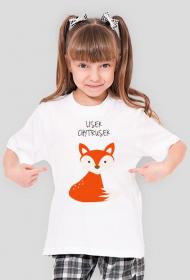 Lisek Chytrusek - koszulka dziecięca