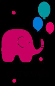 Słonik na szczęście - kubek