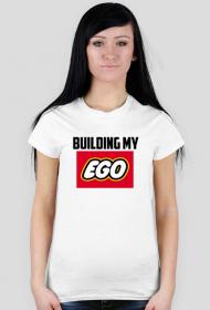 Building my ego - koszulka damska