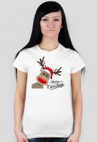 Merry Christmas - koszulka damska