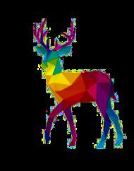 Deer - kubek na święta